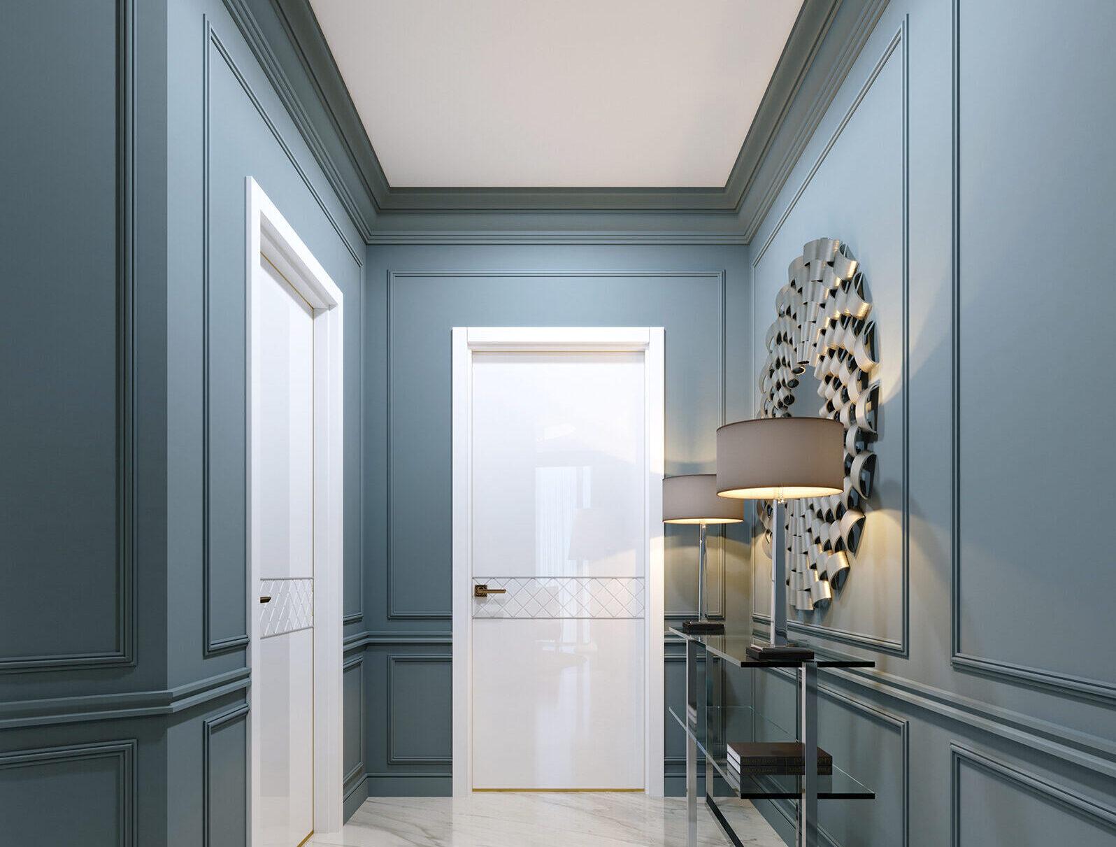 Flat entrane door